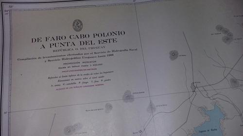 Imagen 1 de 4 de Carta De Navegacion De 84x60