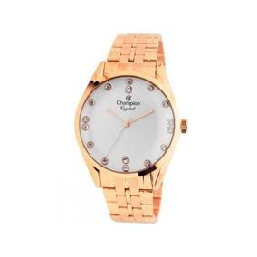 Relógio Champion Feminino Rosê Cn25547z