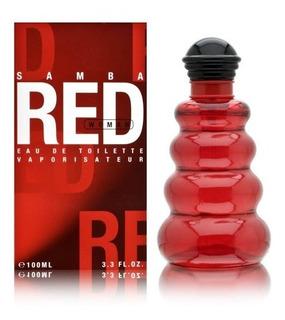 Samba Red Man Edt 100 Ml Caballero