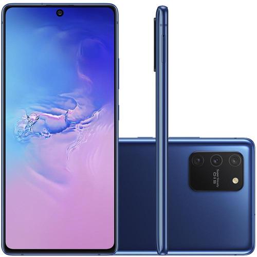 Celular Samsung Galaxy S10 Lite Azul 6gb 128gb Tela 6.7