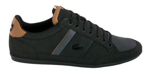 Tenis Casual Lacoste Chaymon Color Negro
