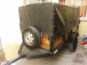 Trailer/carro Completo Ideal Para Mudanzas