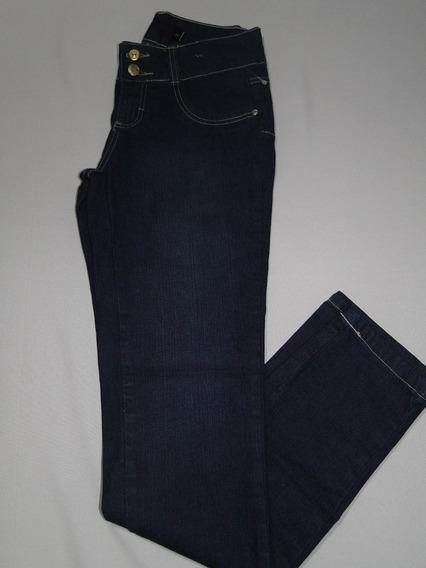 Calça Feminina Jeans Skinny 2 Botoes Rf33! Nova