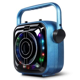 Parlante Kolke Bt Kpm-192 Park 30w Led Fm Mic Control Azul