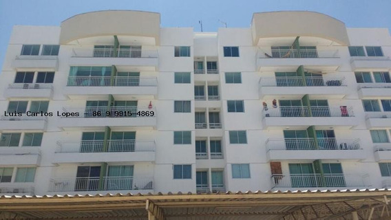 Apartamento Para Venda Em Teresina, Uruguai, 3 Dormitórios, 1 Suíte, 2 Banheiros, 2 Vagas - Apto Reserva Yucca 3 Quartos