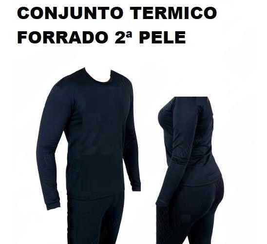 Blusa Termica E Calça Termica Conjunto Termico Frio Intenso