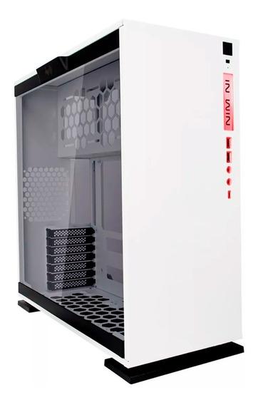Gabinete Gamer In Win 303c Media Torre Atx Blanco Cristal T