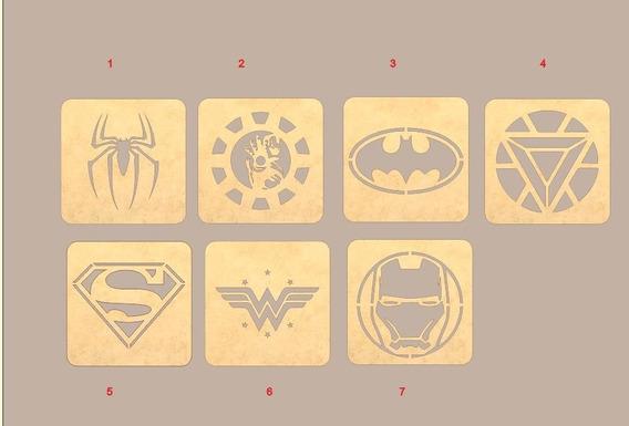 01 Descanso De Panelas Super Herois