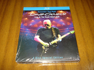 Bluray David Gilmour Pink Floyd / Remember (sellad) 2 Disco