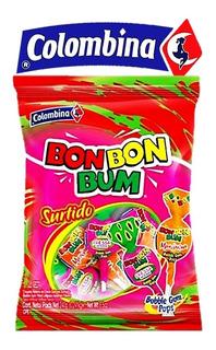 Chupetas Bon Bon Bum (24 Unidades)