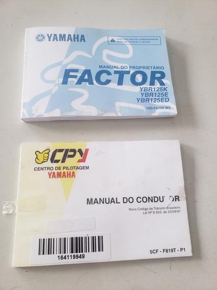 Manual Do Proprietário Factor Ybr125k Ybr125e Ybr125ed 0464