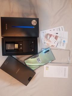Celular Note 10+ 256gb Original Com Nf Da Samsung Na Caixa.