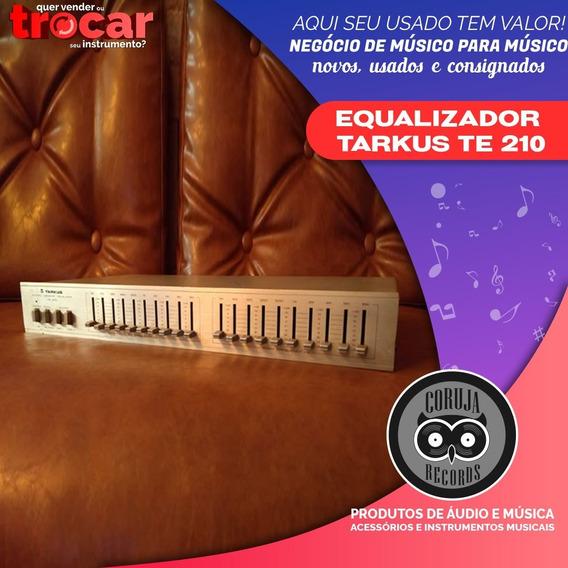 Equalizador Tarkus Te - 210 Em Perfeito Estado Te 210 Te210