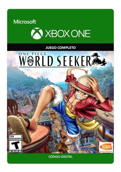 One Piece World Seeker - Código 25 Dígitos - Xbox One