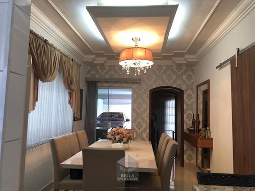 Casa À Venda No Jd Oreste Veroni Em Limeira, Sp - Ca-858-1