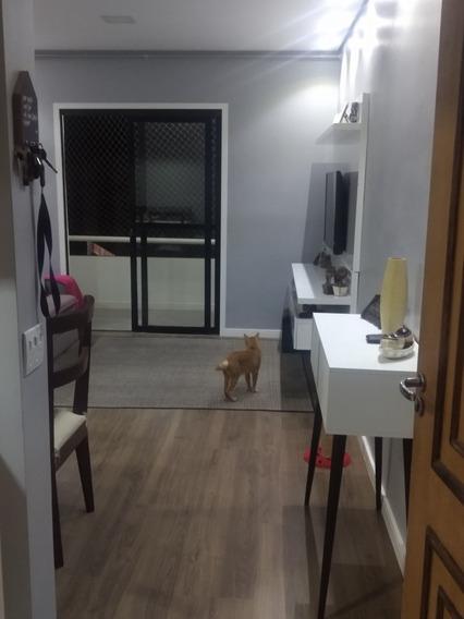 Apartamento Em Jandira, 2 Dormitórios, 60m2