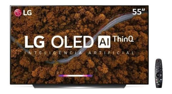Smart Tv Oled 55 Uhd 4k LG Oled55cx Preta Bivolt Pix90