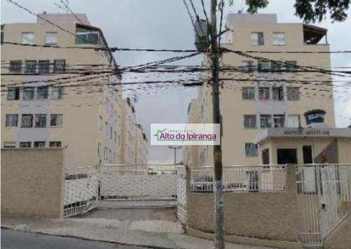 Apartamento Com 3 Dormitórios À Venda, 61 M² Por R$ 225.000,00 - São João Clímaco - São Paulo/sp - Ap4970