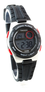 Reloj Tressa Dama Nena ,digital Led Sumergible 100m Garantia Oficial