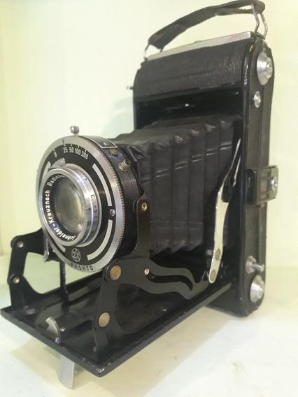 Máquina Fotográfica Antiga De Fole Rolfix Alemã Anos 50