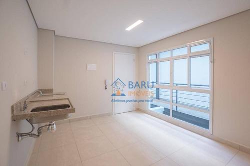 Imagem 1 de 10 de Studio Com 1 Dormitório Para Alugar, 23 M² Por R$ 1.150,00/mês - Campos Elíseos - São Paulo/sp - St0014