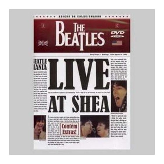Beatles The Live At Shea Dvd Nuevo
