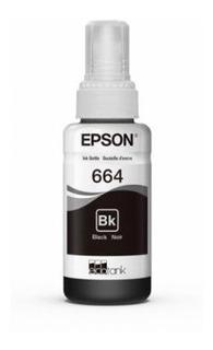 Botella Epson T664 Negro - Original