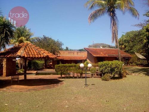 Chácara Para Alugar, 6353 M² Por R$ 6.000,00/mês - Condomínio Quinta Da Boa Vista - Ribeirão Preto/sp - Ch0104