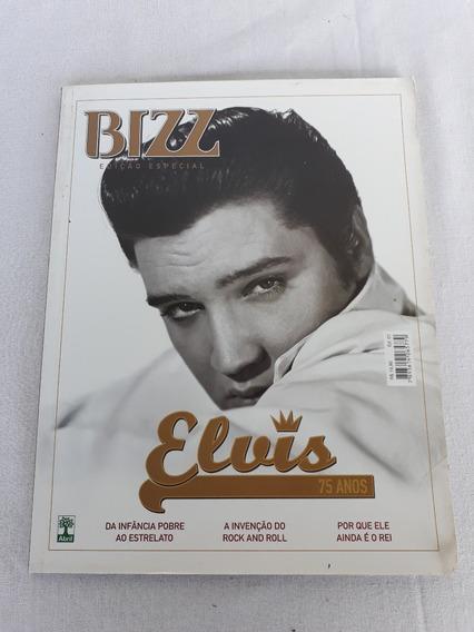 Revista Bizz Elvis 75 Anos Edição Especial