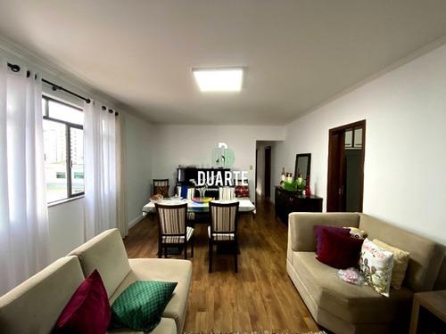 Imagem 1 de 30 de Vendo Excelente Apartamento 3 Quartos, 1 Suíte, + Dependência, 1 Vaga Demarcada; Bairro Aparecida, Santos, 111m2 Úteis - Ap03800 - 69430704
