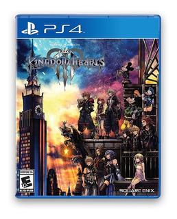 Kingdom Hearts 3 Ps4 Fisico Sellado Envio Sin Cargo + Regalo