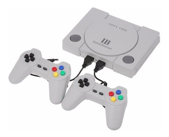 Videogame Gamestation Com 600 Jogos 8-bits E Dois Controles