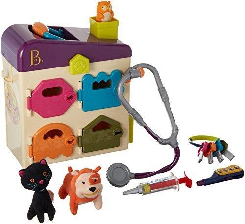 B. Pet Vet Toy Doctor Kit Para Niños Juego De Imaginación (8