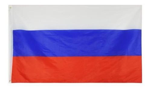 Imagen 1 de 1 de Bandera De Rusia 90 X 150 Cm