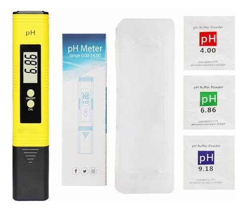 Medidor Digital De Ph Con Atc Ph Metro - Buffer Baterias Lcd