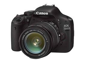 Canon Eos 550d Com Lente Efs 18-55mm E Fish-eye/macro Rollei