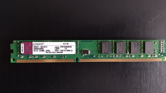 Memória 4gb 1333mhz Ddr3 Kingston Kvr1333d3n9/4g