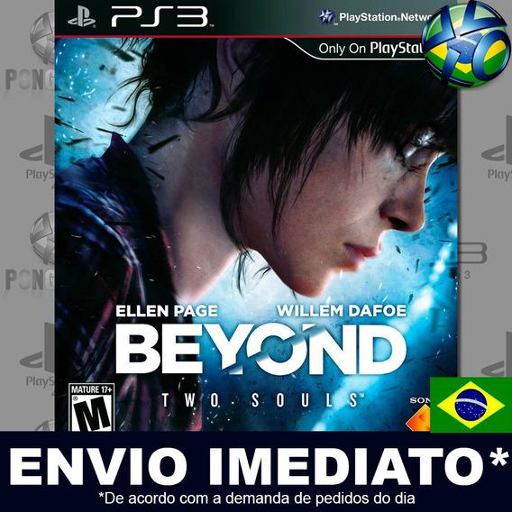 Beyond Two Souls Ps3 Digital Psn Dublado Português Promoção