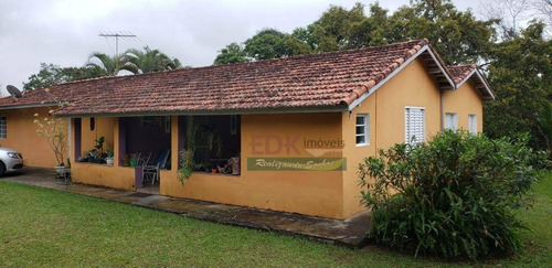 Imagem 1 de 7 de Chácara Com 3 Dormitórios À Venda, 10000 M² Por R$ 680.000,00 - Parque Agrinco - Guararema/sp - Ch0162