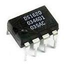 Sensor De Temperatura Ci Ds1620 Dip8 Arduino 3 Peças