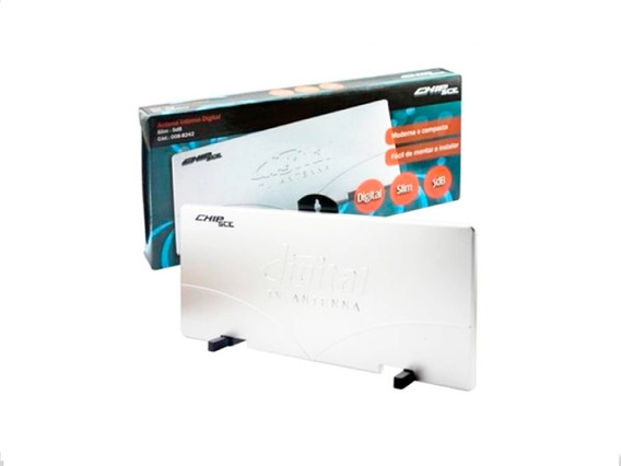 Antena Interna Hdtv Ultra Slim 5db - Digital