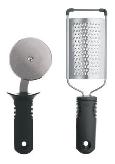 Oxo Good Grips Grate And Slice Pizza Set