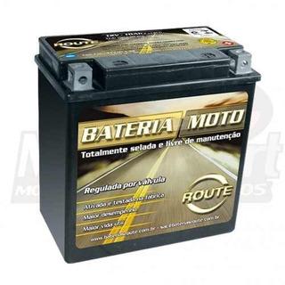 Bateria Route 12v 10ah Dafra Citycom 300 Original Com Nota