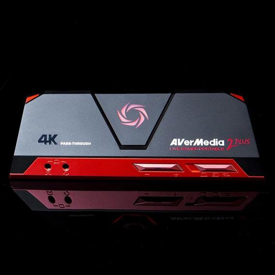 Placa Captura Vídeo Usb Avermedia Live Gamer Portable 2 Plus