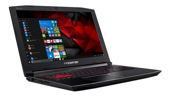 Notebook Gamer Acer Helios 300 G3-572-70mg I7 Ssd 128gb 16gb