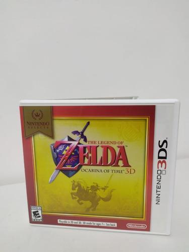 The Legend Of Zelda: Ocarina Of Time 3d Original 3ds 0027