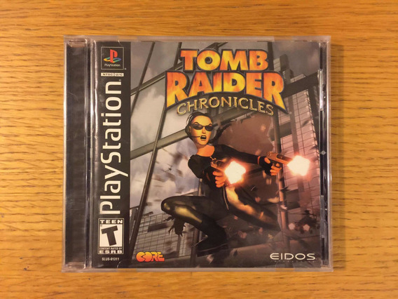 Tomb Raider Chronicles Ps1 Ps2 Ps3 Playstation 1 Colección