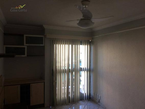 Apartamento Com 2 Dormitórios À Venda, 76 M² Por R$ 280.000 - Condomínio Portal Das Pedras - Mogi Guaçu/sp - Ap0113