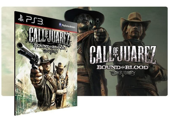 Call Of Juarez Bound In Blood Ps3 Psn Original Digital