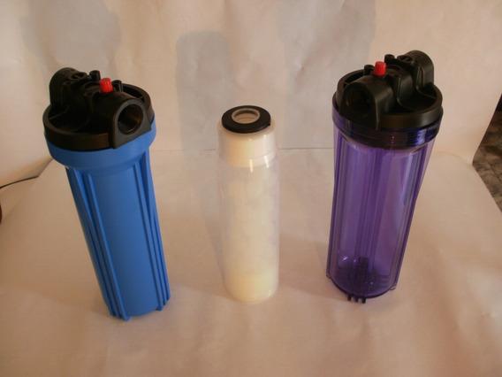 Filtro De Agua Doble Tamaño Bb Multifuncion Tamaño 4.5x20